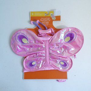 Dog Halloween Costume Butterfly Wings Pink S 5 -15